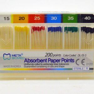 کن کاغذی استاندارد 2% متا - Meta Gutta Percha Points