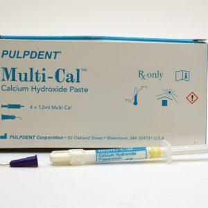 کلسیم هیدروکساید پالپ دنت - PulpDent Calcium Hydroxide Paste Multi Cal