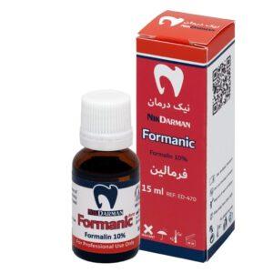محلول فرمالین 10% نیک درمان - 10% Nik Darman Formanic در سپدنت