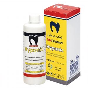 محلول هیپوکلریت سدیم 5.25% نیک درمان - Nik Darman Hyponic 5.25%