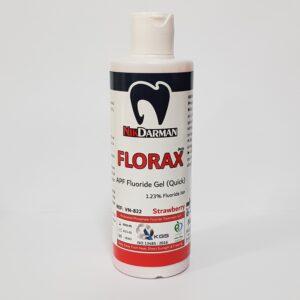 ژل فلوراید / FLORAX 200ml نیک درمان