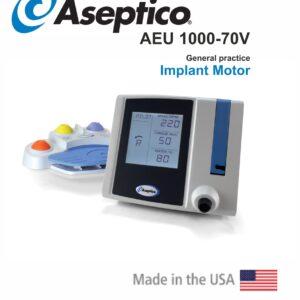 دستگاه جراحی ایمپلنت و موتور ایمپلنت اسپتیکو - AEU 1000-70V مدل Aseptico در سپدنت