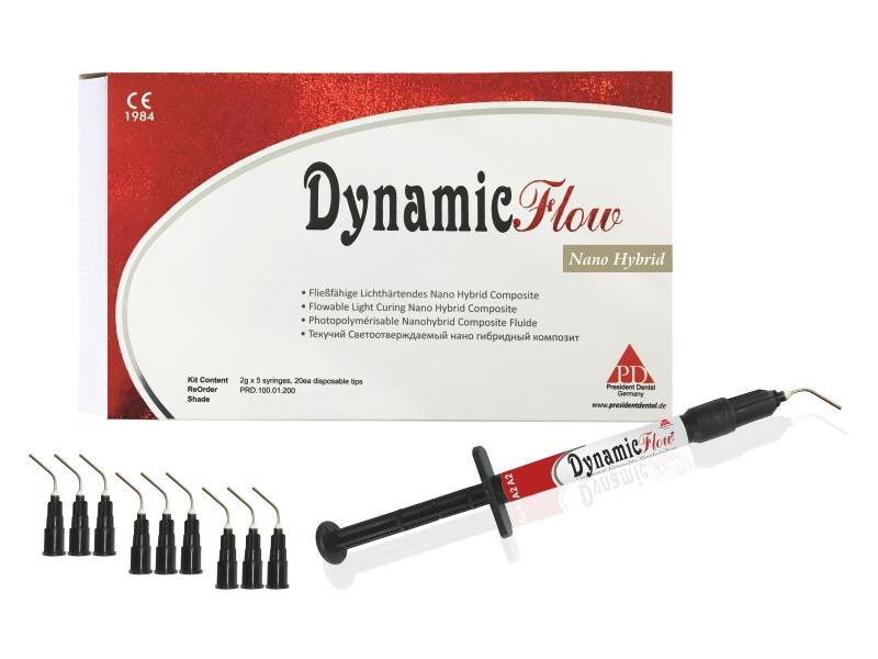 کیت کامپوزیت فلو یونیورسال زنیت (ZENIT - DYNAMIC FLOW - Universal Flowable Restorative - Kit)