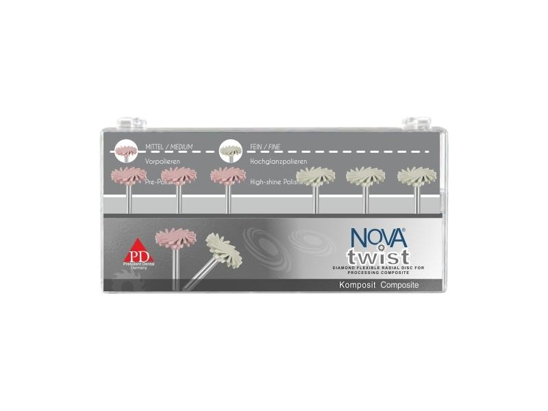 دیسک های پرداخت الماسه زنیت (ZENIT - NOVA TWIST. Polishing System)