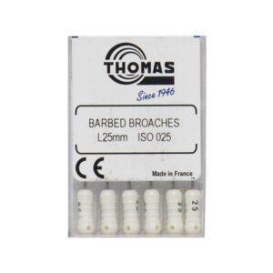 فایل دستی باربروچ توماس - Thomas Nerve Barbed Broaches در سپدنت