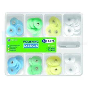 کیت دیسک پرداخت مرکزدار چهار رنگ-Polishing Disc kit TOR VM