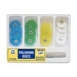 کیت دیسک پرداخت مرکزدار تور وی ام-TOR VM polishing Disc kit